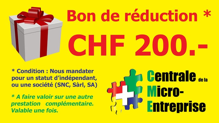 Réduction de CHF 500.-